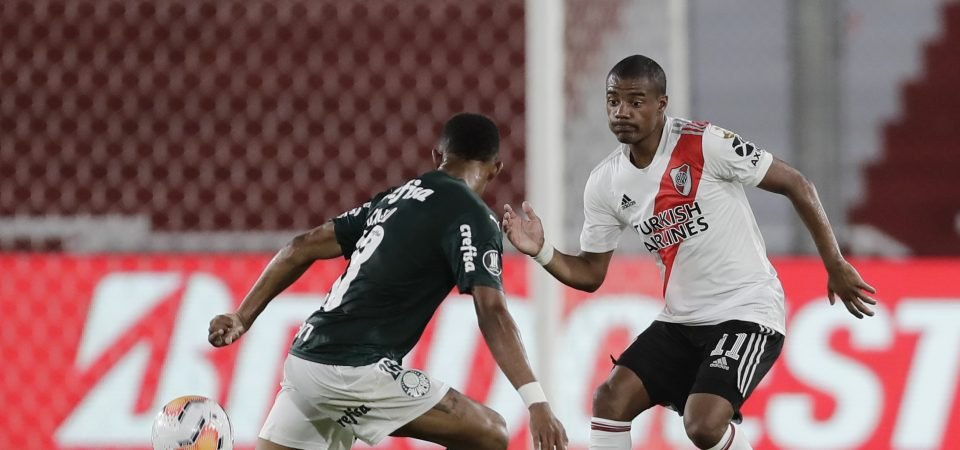 Nicolas de la Cruz: Midfielder open to River Plate exit following Everton interest