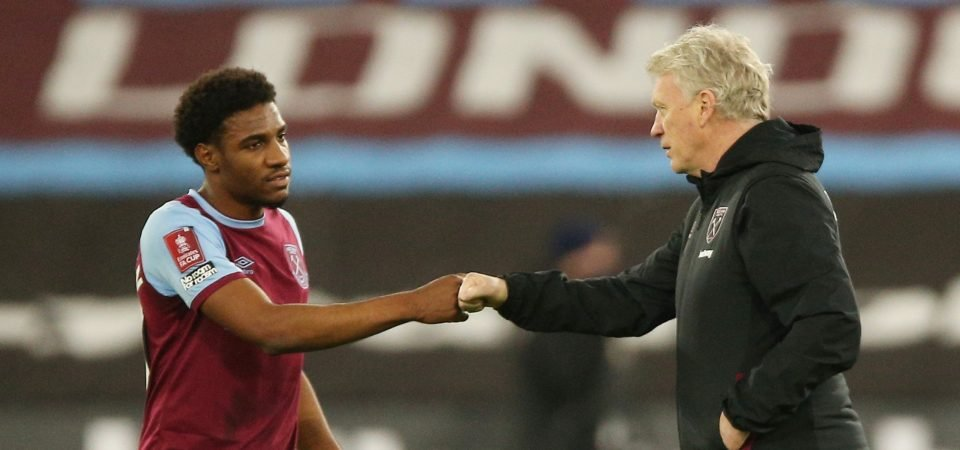 Oladapo Afolayan: West Ham prospect sends David Moyes an instant reminder