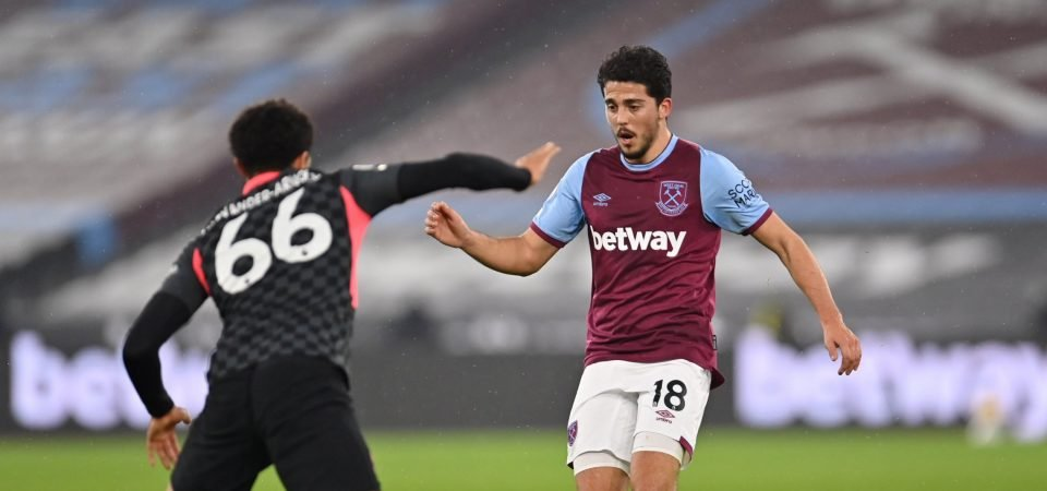 West Ham: Pablo Fornals expected to overcome groin injury in time for Wolves trip