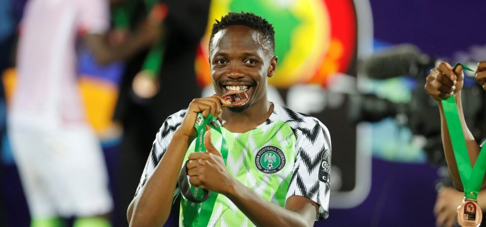 West Brom close in on bargain Ahmed Musa swoop