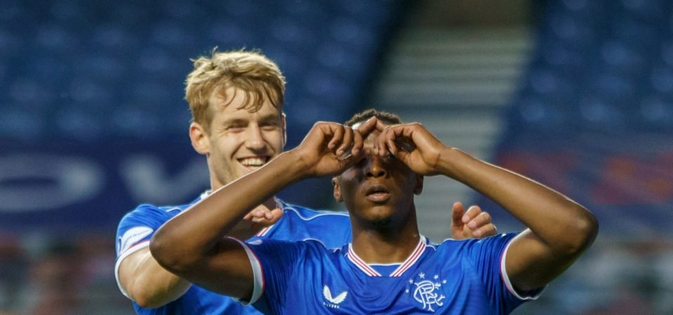 Rangers centre-back Filip Helander was dreadful against Dundee United