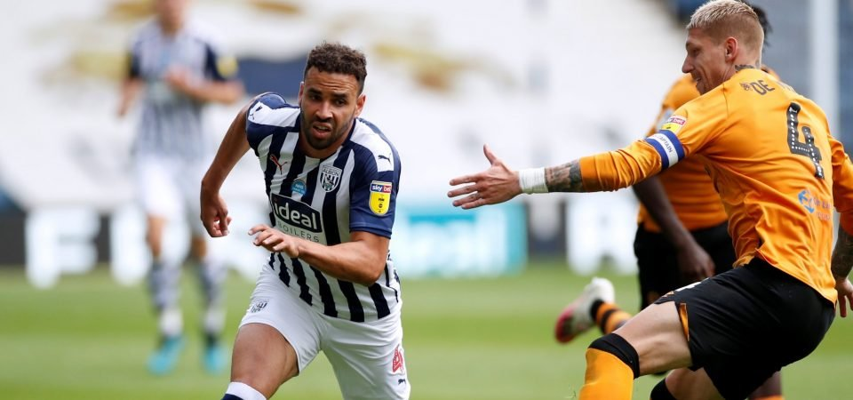 West Brom must offload Hal Robson-Kanu this summer