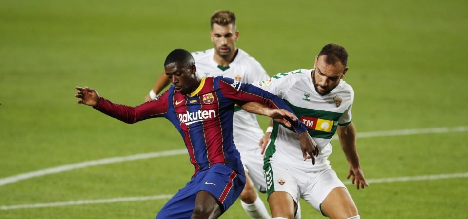 Manchester United must avoid signing Barcelona winger Ousmane Dembele in the summer