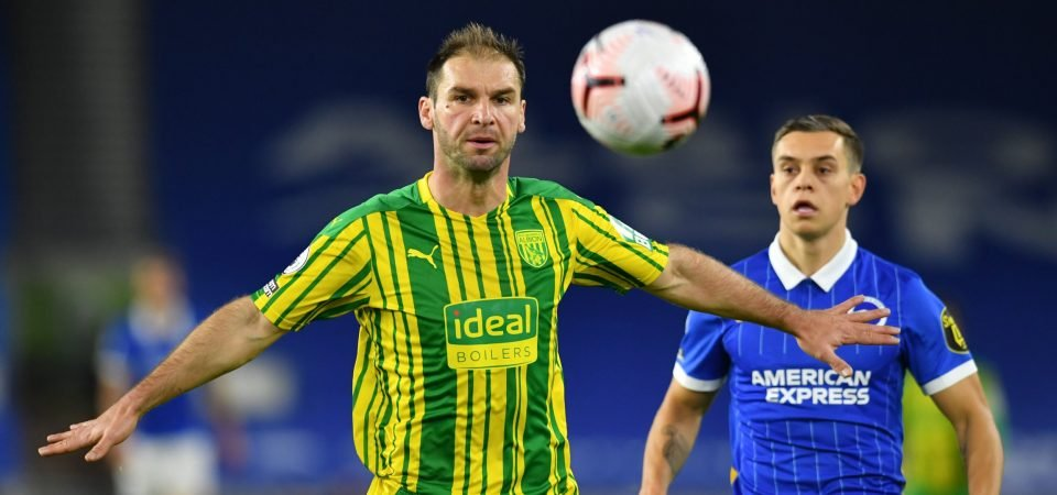 West Brom paying the price over Branislav Ivanovic