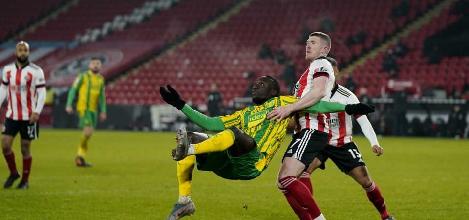 Mbaye Diagne drops West Brom disasterclass