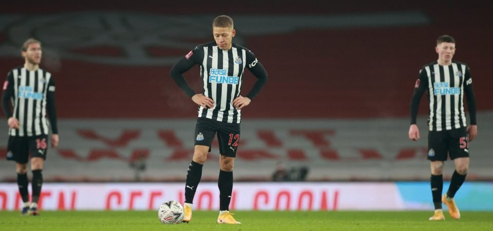 Exclusive: Ex-Newcastle star disgusted by Brighton performance