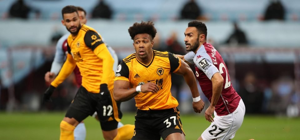 Aston Villa's Ahmed Elmohamady sent Dean Smith a huge message with Wolves display