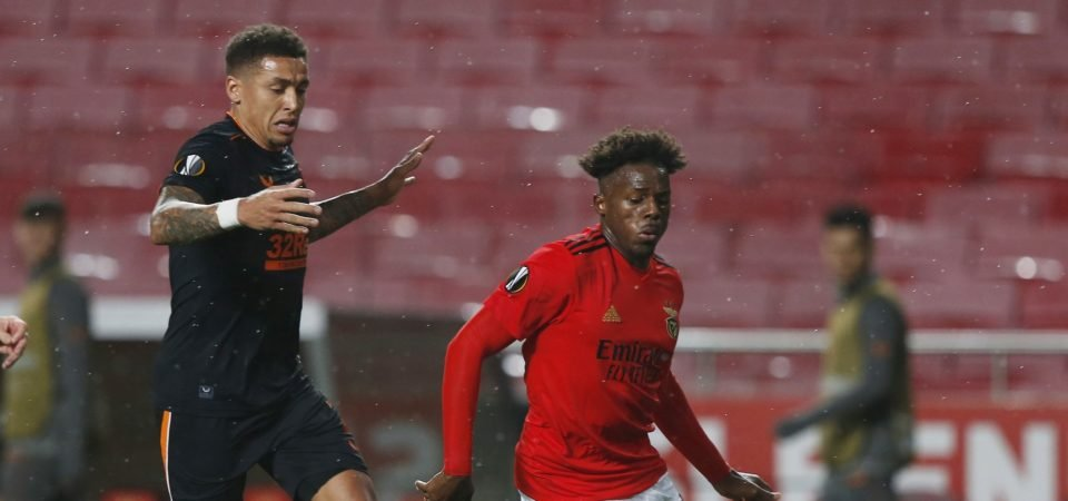 Nuno Tavares: Newcastle to make bid to sign SL Benfica full-back this summer