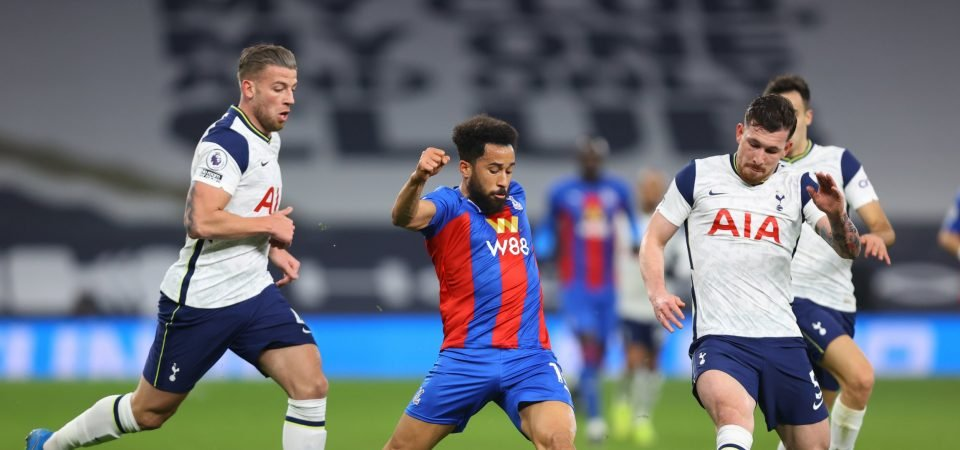 Crystal Palace: Townsend poor on his return to Spurs