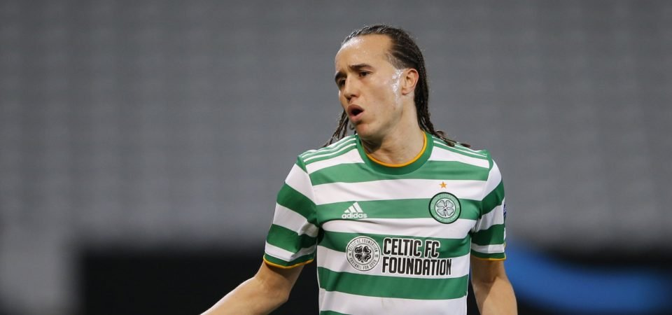 Celtic: Diego Laxalt lets Kennedy down in Dundee Utd draw