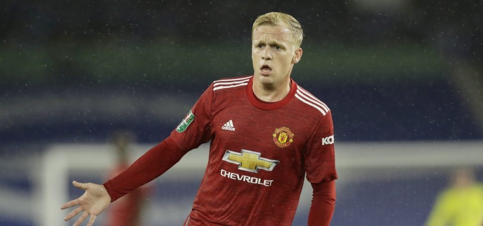 Manchester United: Donny van de Beek's transfer rating tumbles with Red Devils