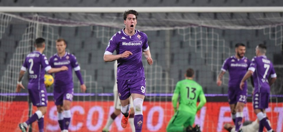 Dusan Vlahovic: West Ham, Borussia Dortmund eye transfer of Fiorentina striker