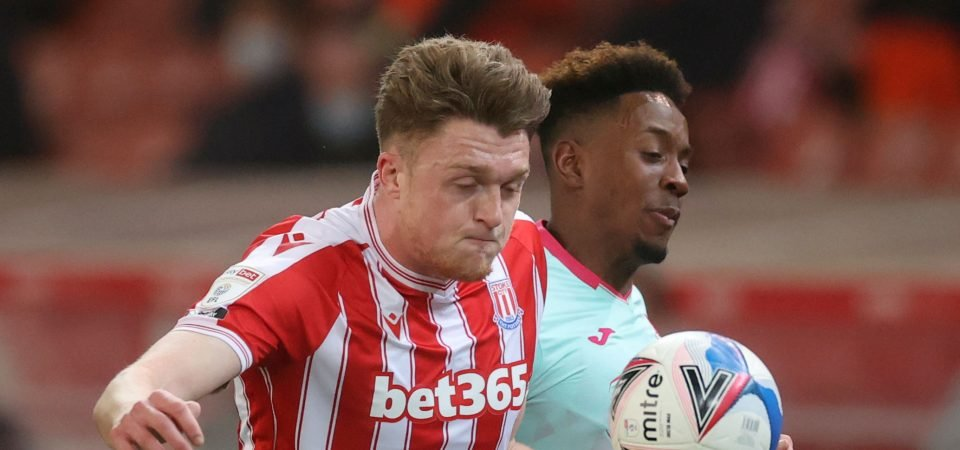 Crystal Palace: Stoke's Harry Souttar could be ideal Cahill successor