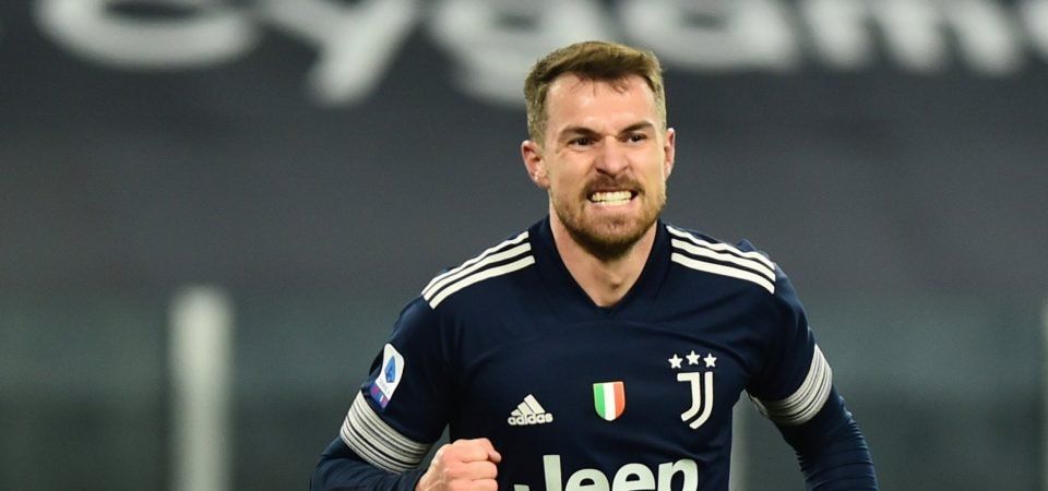 Aaron Ramsey: Everton make enquiry over transfer of Juventus midfielder