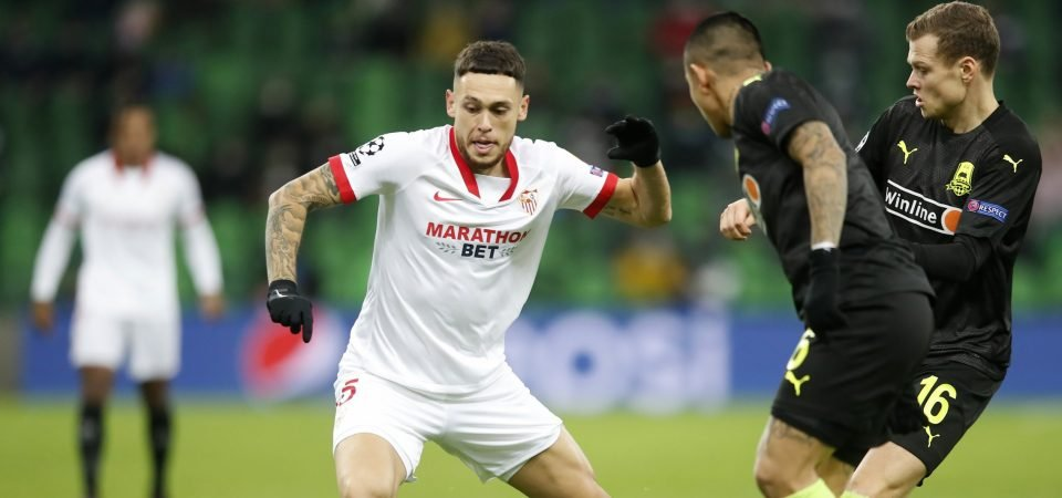 Leeds could sign a Jack Harrison upgrade in Sevilla's Lucas Ocampos