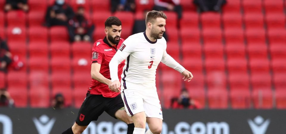 Manchester United: Shaw shines on England return in Albania