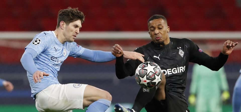Manchester City: John Stones superb again in Monchengladbach victory