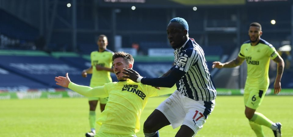 West Brom: MBaye Diagne disappoints in Newcastle draw