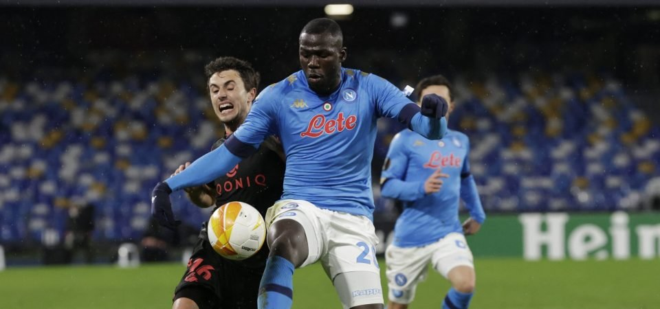 Kalidou Koulibaly: Napoli ace tops Everton's shortlist as Ancelotti eyes defender deal