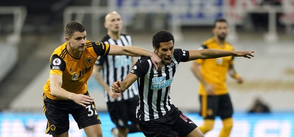 Newcastle: Steve Bruce can utilise Isaac Hayden to replace injured Emil Krafth