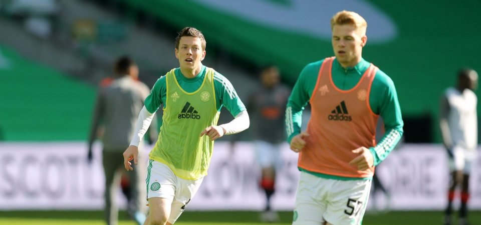 Celtic: Stephen Welsh on top form in the Old Firm