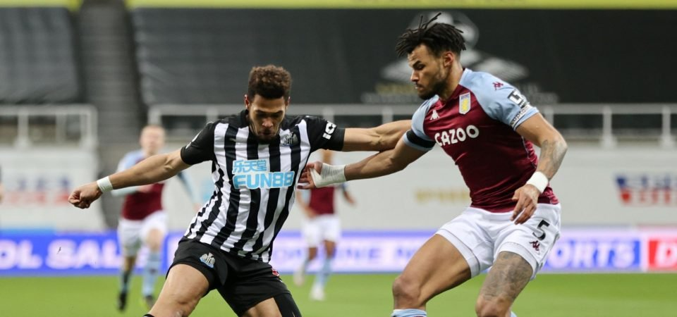 Aston Villa's Tyrone Mings let Dean Smith down with shocking display vs Newcastle