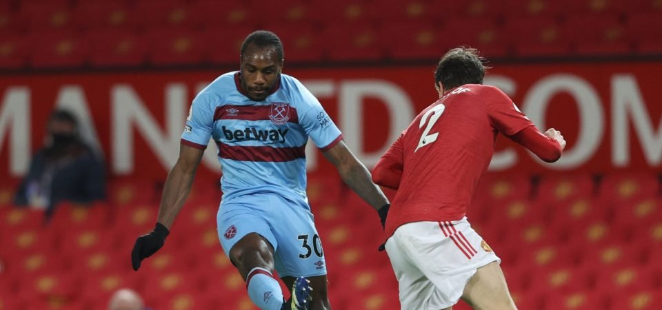 Michail Antonio: West Ham striker let David Moyes down in 1-0 Man Utd defeat