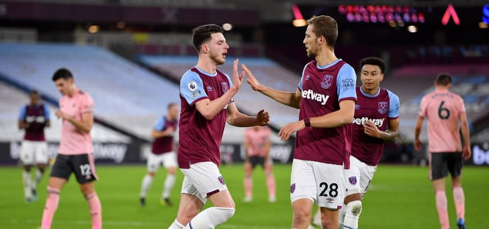 David Moyes must urge West Ham seal new contracts with Declan Rice, Tomas Soucek
