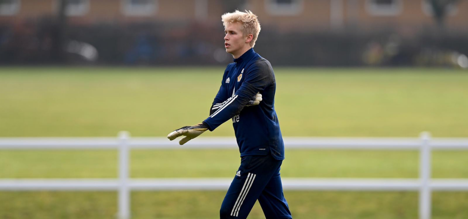 Exclusive: Andreas Sondergaard on why he chose to sign for Wolves