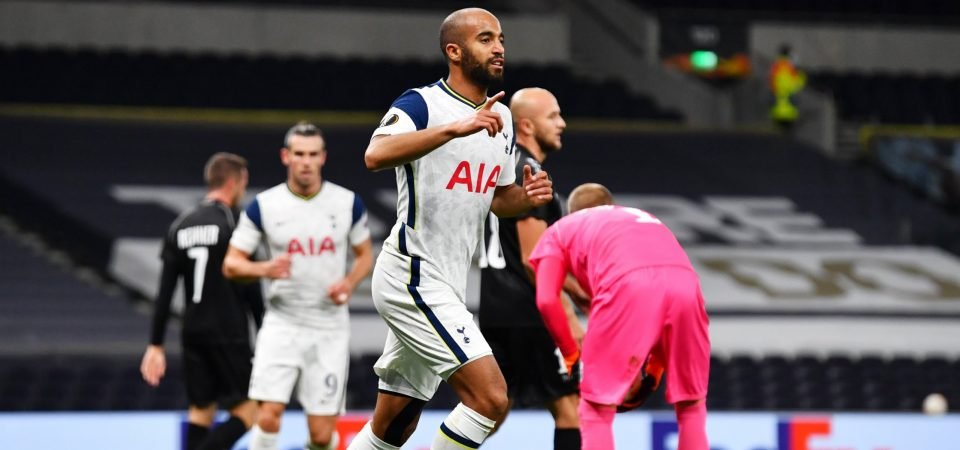 Spurs: Lucas Moura now surely a tempting money-spinner for Daniel Levy