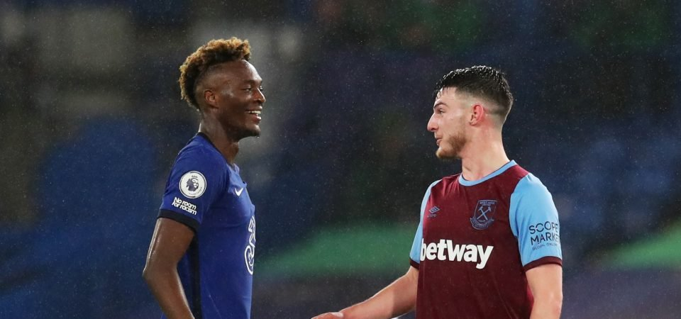 Exclusive: Windass says Declan Rice would walk into Chelsea's team