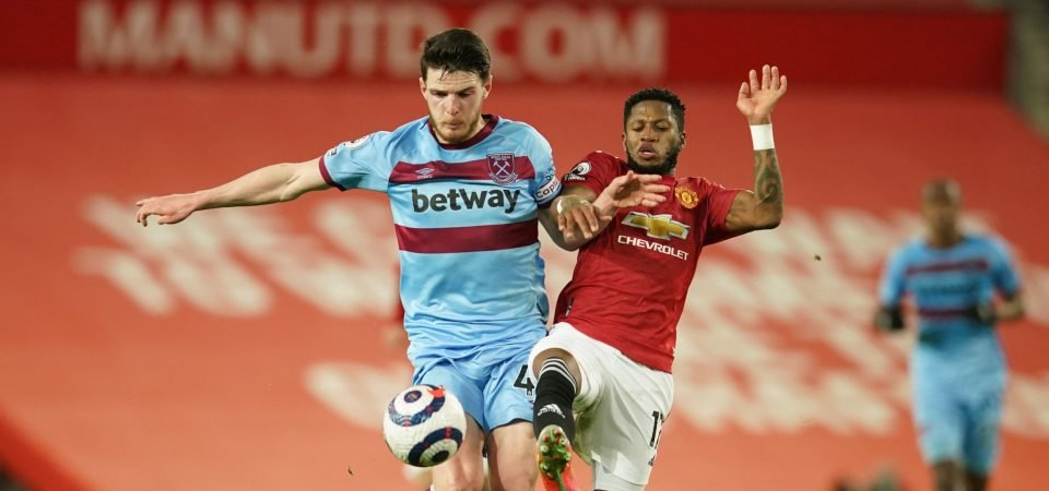 Exclusive: Pundit thinks Declan Rice can be one of 'world's best' midfielders