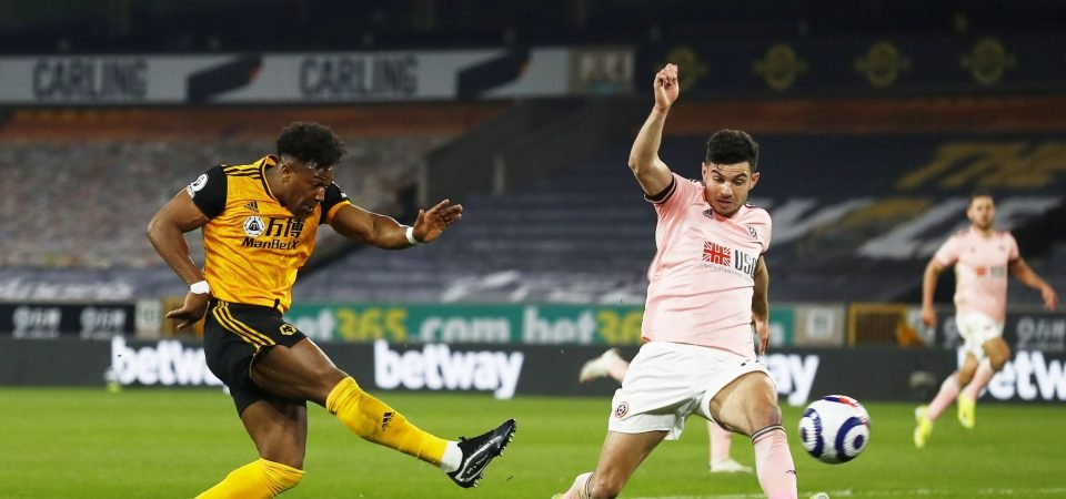 Aston Villa could land bargain deal in Wolves star Adama Traore