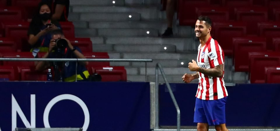 Vitolo: West Ham offered £8.5m deal for unwanted Atletico Madrid forward