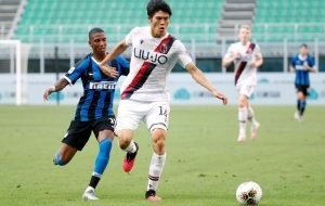 Takehiro Tomiyasu: Everton monitoring £17.5m Bologna defender eyed by AC Milan