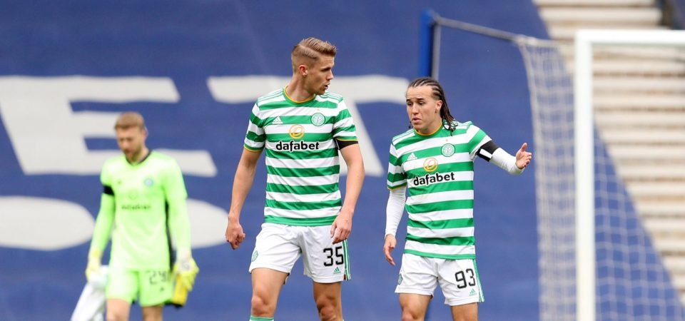 Celtic: Diego Laxalt endures Old Firm shocker