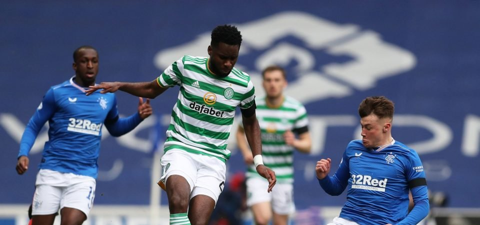 Celtic: Odsonne Edouard has downed tools