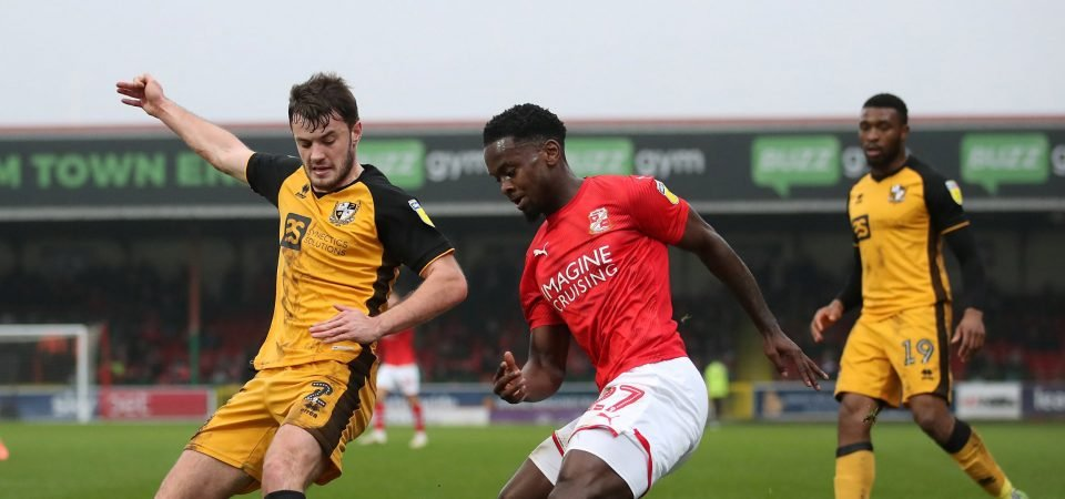Diallang Jaiyesimi set to miss Charlton's clash with Accrington