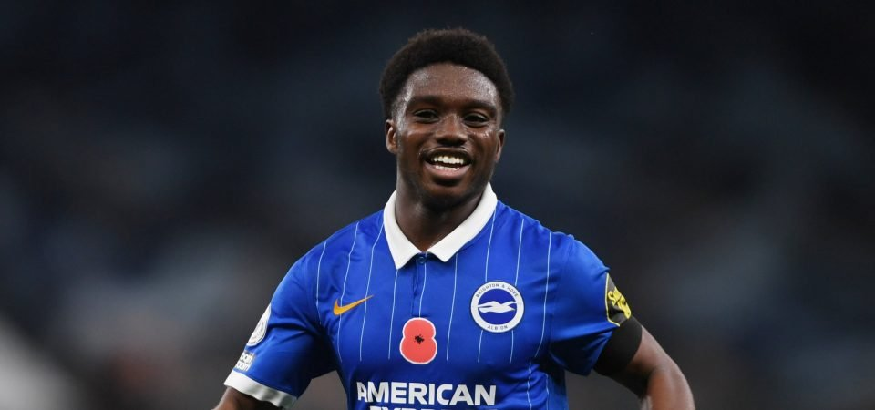 Everton should favour Tariq Lamptey over Max Aarons