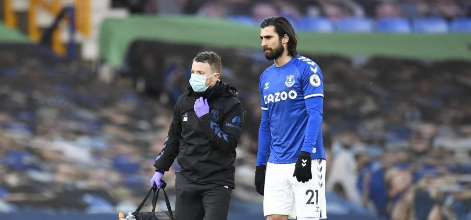 Everton: Carlo Ancelotti confirms injury blows for Andre Gomes and Allan