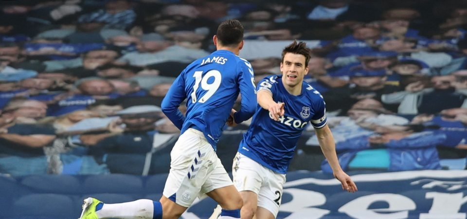 Everton: Seamus Coleman proves Carlo Ancelotti's hero in 1-1 Crystal Palace draw