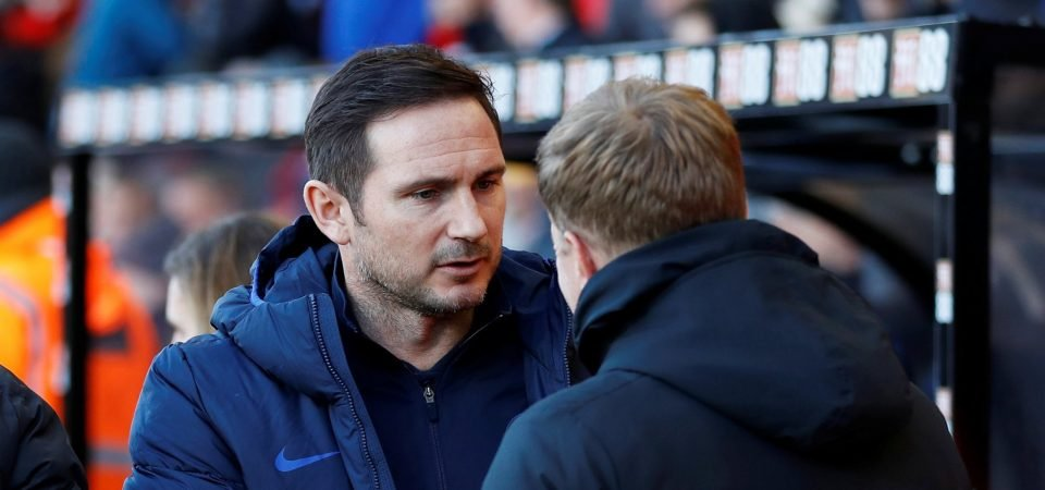 Celtic target Frank Lampard courted by Crystal Palace