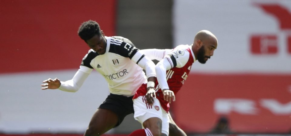 Fulham: Aina was anonymous in the draw against Arsenal