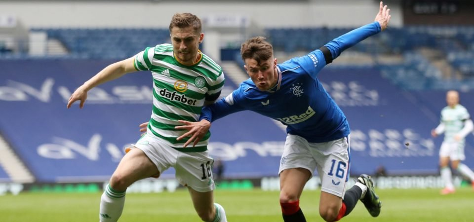 Celtic: Jonjoe Kenny has another Old Firm nightmare