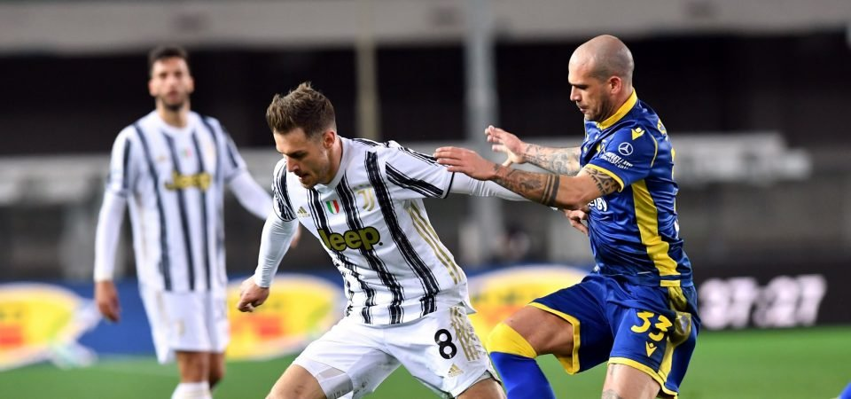 """Aaron Ramsey: West Ham move """"would suit"""" Juventus midfielder eyed by Liverpool"""