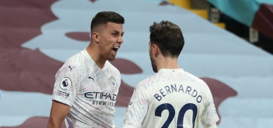 Manchester City: Rodri starred in hard-fought win over Palace