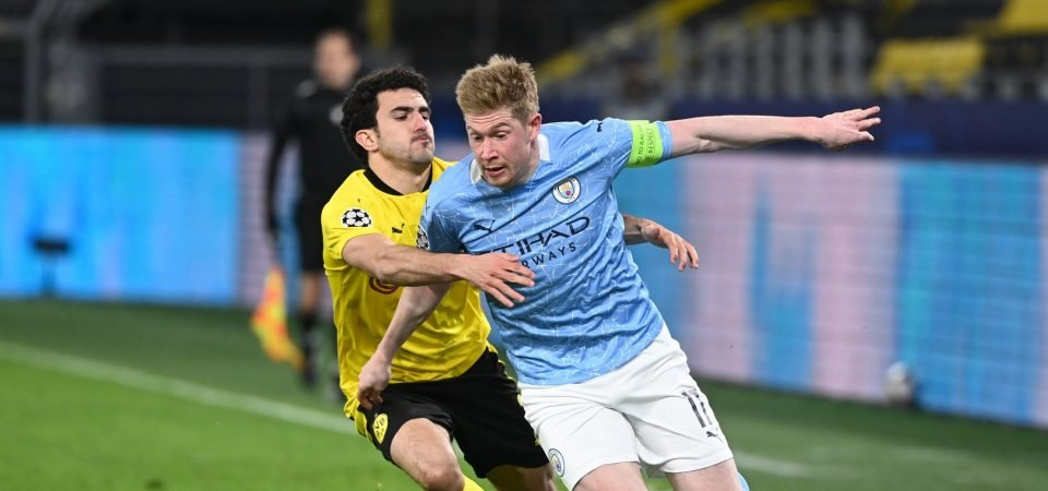 Manchester City: De Bruyne starred in Champions League win