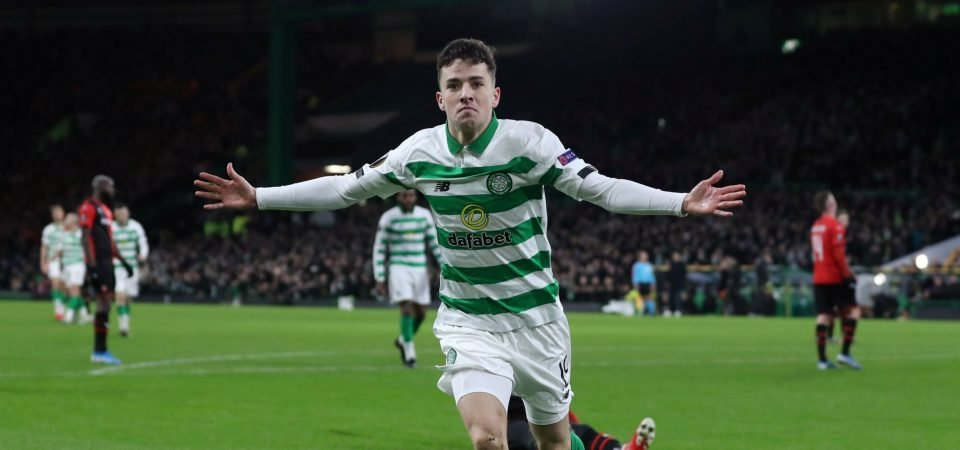 Celtic handed Mikey Johnston injury boost