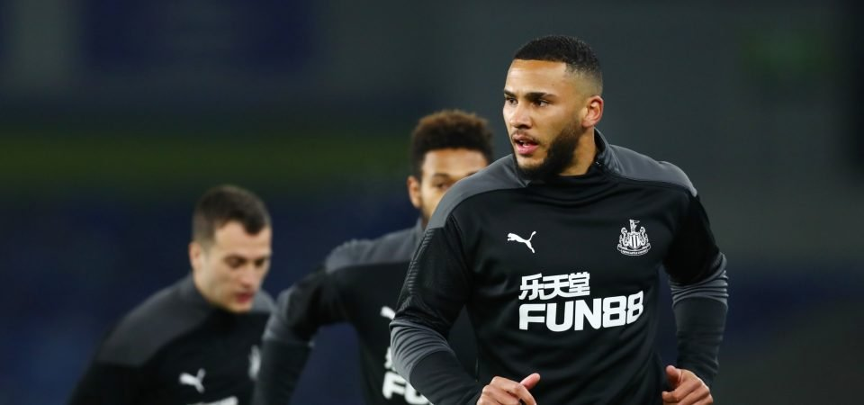 Jamaal Lascelles: Newcastle captain could be out for the season with fractured foot