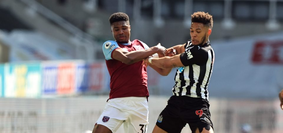 West Ham: Ben Johnson proves David Moyes' real positive of Newcastle loss
